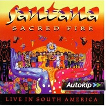 Dvd+cd Santana Sacred Fire Live In Mexico Cd Milagro