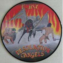 Desolation Angels Fury Picture Disc Valhalla Iron Maiden