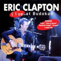 Eric Clapton - Live At Budokan 2001-cd Raro Novo Faixa Bônus
