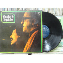 Vinícius De Moraes E Toquinho - Lp Philips 1974 Estéreo