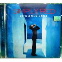 Funk Black Dance Soul Pop Rock Cd Simply Red It`s Only Love
