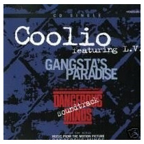 Cd-single-coolio-gangsta´s Paradise-feat.l.v.-importado