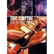 Dvd Eric Clapton Live In Hyde Park