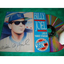 Laserdisc Billy Joel Live At Yankee Stadium Usado Arte Som