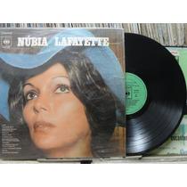 Núbia Lafayette Lama Pensando Em Ti - Lp Cbs Estéreo 1974