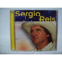 Cd Sérgio Reis- O Melhor De Sérgio Reis