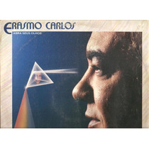 Vinil Lp - Erasmo Carlos - Abra Seus Olhos - Com Encarte