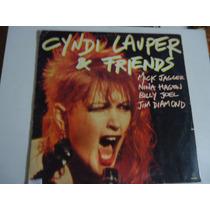 Disco De Vinil Lp Cyndi Lauper E Friends Lindoooooooo