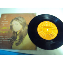 Disco Vinil Compact Gigliola Cinquetti Dio Come Ti Amo 1974