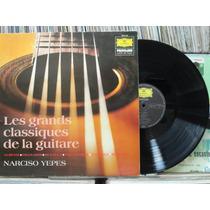 Narciso Yeppes Les Grandes Classics Guitarra Lp Capa Dupla