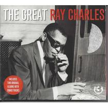 Ray Charles - The Great - Box Com 03 Cd`s - Importado - Novo