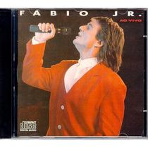 Fábio Jr. - Cd Momentos Ao Vivo 1989 - Frete Grátis