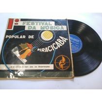 1º Festival Da Música Popular De Piracicaba - Disco Vinil Lp