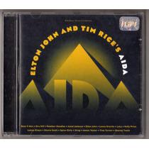 Cd Elton John - And Tim Rice´s Aida - Cd Original