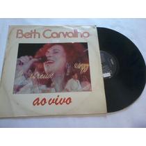 Beth Carvalho Ao Vivo - Disco Vinil Lp