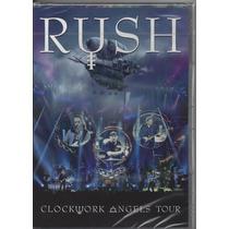 Rush - Clockwork Angels Tour - Dvd Lacrado - Importado -