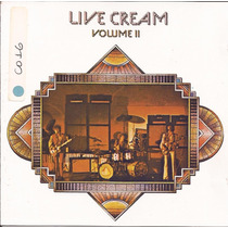 Cd Cream - Live Cream Volume Ii