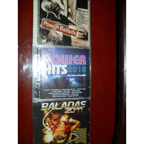 Kit Balada Power Hits Ballads Músicas Variadas 3 Cds Lacrado