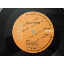 Silvio Santos / Nilton Cesar Compacto Promo 1976 Raridade