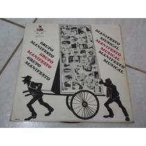 Lp Grupo Manifesto Musical 1967 Elenco