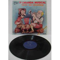 1a. Ciranda Musical Teuto Rio Grandense Lp Vários Artistas