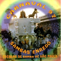 Cd / Sambas Enredo Carnaval 1997 São Paulo