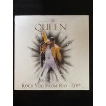 Disco Vinyl Novo Queen Live - Rock You From Rio De Janeiro