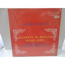 Lp Canções Famosas- Jeanette Macdonald/ Nelson Eddy- Rca