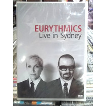 Eurythmics Live In Sydney Dvd Original Novo Lacrado
