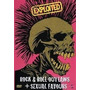 The Exploited-rock&roll Outlaws+sexual Favours Dvd Raro Novo