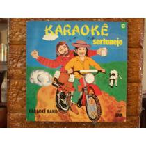 Vinil Lp Karaoke Sertanejo - Band - Com Encarte