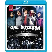 Blu-ray One Direction Up All Night The Livetour Novo Lacrado