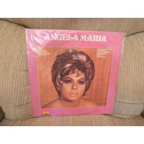Vinil Angela Maria Linha 3 Disco De Ouro 1981 Autografado
