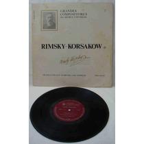 Grandes Compositores Da Música Univers Ed Abril Lp Rimsky Ko