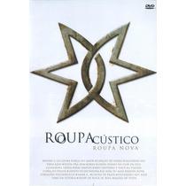 Dvd Roupa Nova - Acústico (2004) * Lacrado Original Raridade