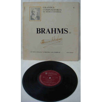 Grandes Compositores Da Música Univers Ed Abril Lp Brahms