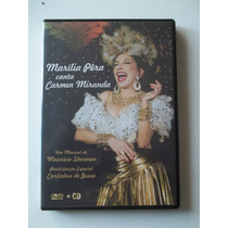 Marília Pêra Canta Carmen Miranda - Cd E Dvd!!!! Raro!!!!