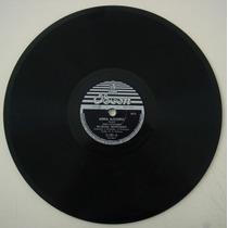 Disco 78 Rpm -manoel Monteiro -odeon11.135