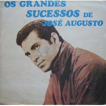 Os Grandes Sucessos De José Augusto - Lp Sombras - 1975