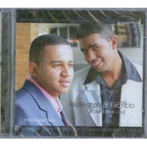 Cd Wellington & Fabrício - Jóia Rara / Bônus Playback.