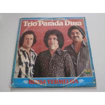 Lp Trio Parada Dura - Blusa Vermelha, Vinil Sertanejo