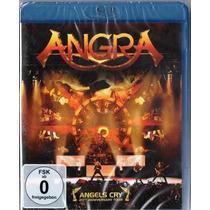 Angra - Angels Cry - Blu Ray Lacrado, Importado