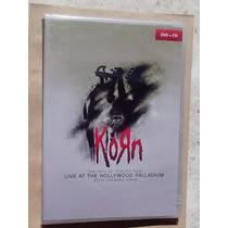 Dvd + Cd Korn - Live At The Hollywood Palladium Lacrado !