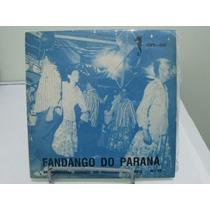 Disco Vinil Fandango Do Paraná - Doc. Folclore Brasileiro
