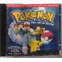 Cd Pokémon Para Ser Um Mestre Encarte Danificado