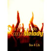 Box 4 Cds Clássicos Do Funk Melody