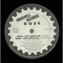 B.o.s.e. - Robo-cop (who-r-u) (miami Bass)