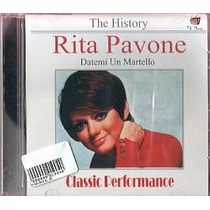 Cd Rita Pavone - The History (novo/lacrado)