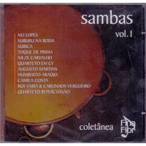 Cd Coletânea Fina Flor - Sambas Vol. 01 - Novo***
