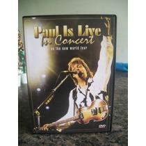 Dvd Paul Mccartney - Paul Is Live In Concert
